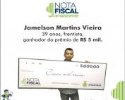 Jamelson Martins Vieira - 5 mil
