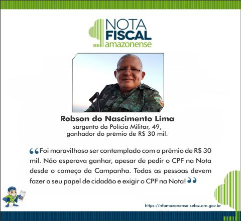 Robson do Nascimento Lima - 30 mil (nfa)