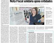Nota Fiscal solidária apoia entidades